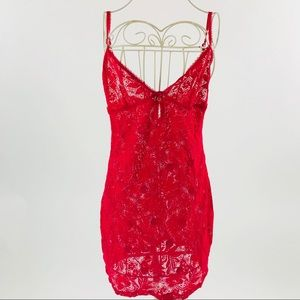 Victoria's Secret Red Lace Nighty